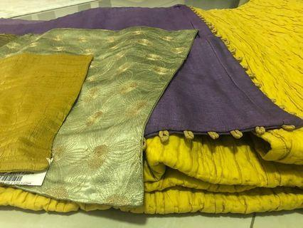 🚚 Queen size quilt & 5 Cushion covers