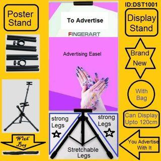 Stand - Display Stand - Advertising Stand - Marketing Stand - Poster Stand - New Pc