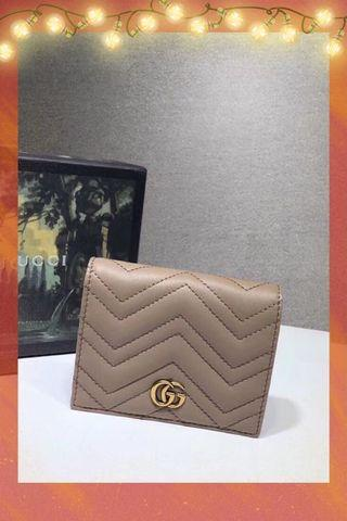 Gucci wallet 兩折銀包