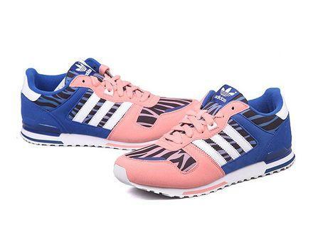 全新 Adidas Original運動鞋 ZX700波鞋 球鞋 粉紅色 斑馬紋 36碼 平放 sport women shoes