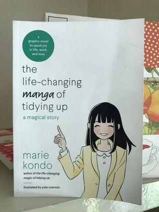 Marie Kondo Life Changing Manga of Tidying Up