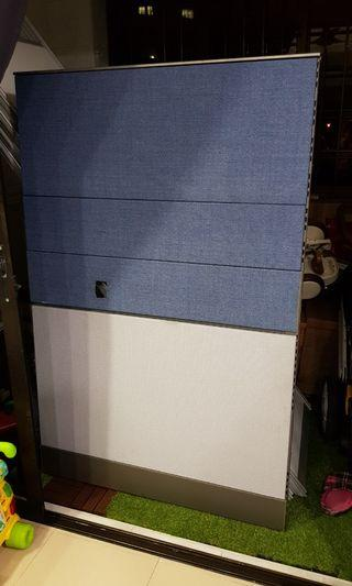 Partitions board