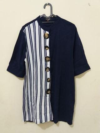 Long top navy