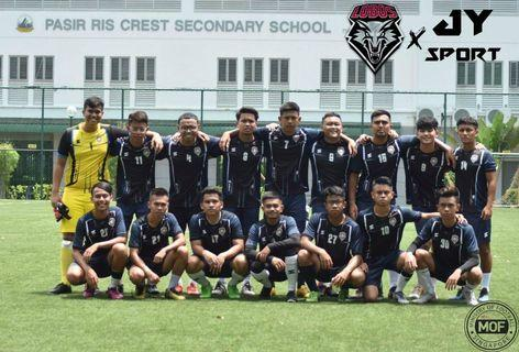 [Thank You FC Lobos] Customised Soccer Jersey Team wear