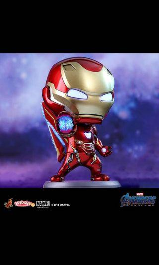 HotToys Marvel Cosbaby Ironman Mark 50 攻擊姿態 Avengers End Game