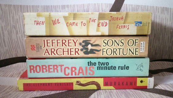 🚚 Fiction books