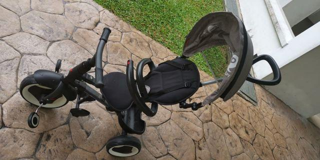 Qplay rito foldable tricycle