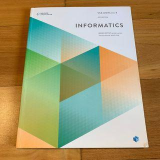 VCE Informatics Units 3&4