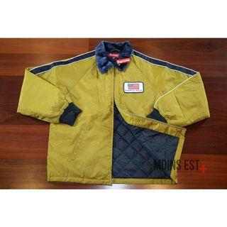 SUPREME Freighter Jacket - Yellow SS17