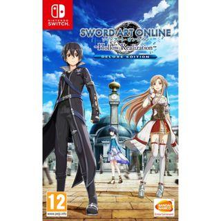 READY STOCK! [ENG] SAO Hollow Realization Deluxe Edition Nintendo Switch Sword Art Online [EU]