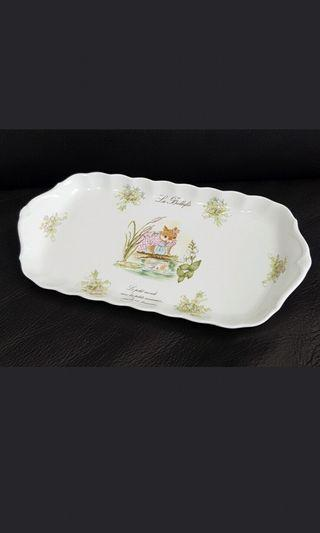 Narumi sandwich oval plate