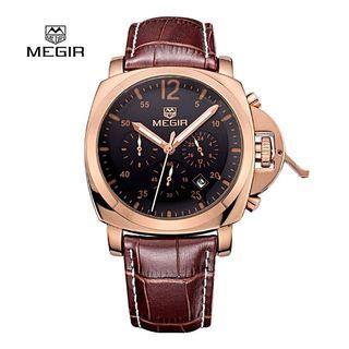 Megir Watch 3006 Date Function Quartz Male Watch