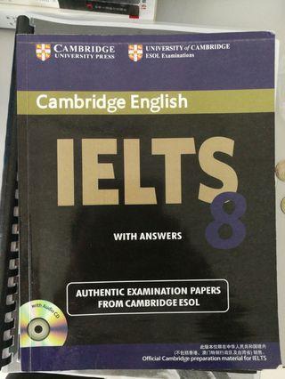 Cambridge English IELTS 8