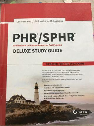 PHR - SPHR (like new)