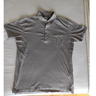 Uniqlo cotton shirt with collar