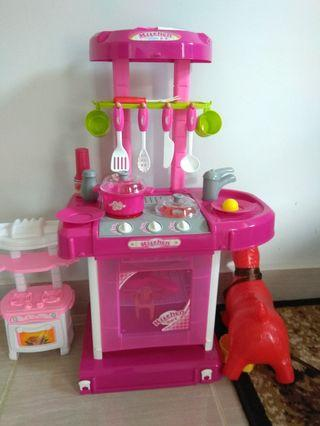 Kitchen Set Mainan Anak/Masak masakan
