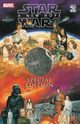 Star Wars: A New Hope - Special Edition #1-4. ( Hardcover book)