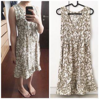 Dress wanita / midi dress / casual dress