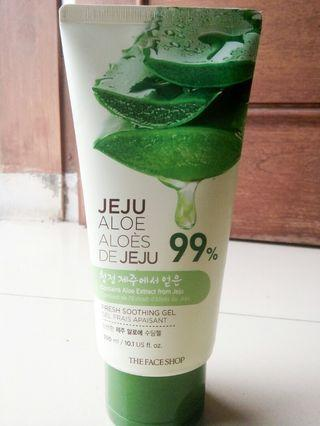 The Face Shop Jeju Aloe Fresh Soothing Gel (TUBE) #SociollaCarousell