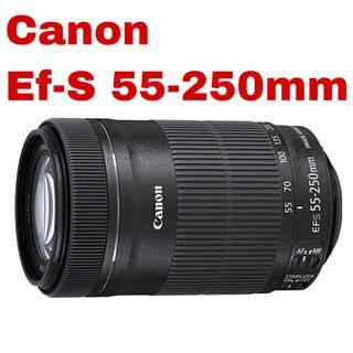 Canon Ef-S 55-250mm is stm lens