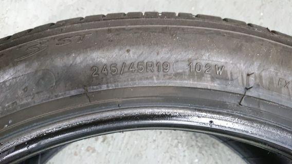 Michelin primacy 3 245/45/19 102w