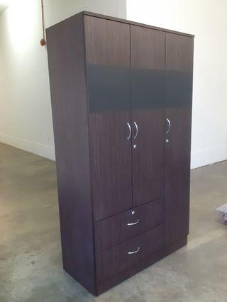 3 Door Wardrobe Cupboard