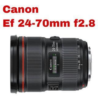 CanonEF 24-70mm f/2.8L II USM Lens
