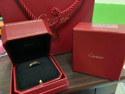Cartier LOVE婚戒