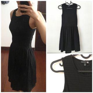 Cotton on Black Dress / casual dress / dress hitam