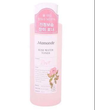 🚚 🔥Mamonde Rose Water Toner - 150ml🔥Lowest $🔥New Stocks June 2019🔥