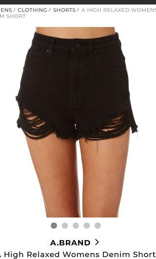 Abrand Distressed Shorts