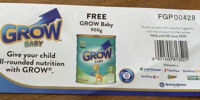 🚚 Grow baby formula milk stage 2