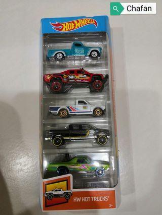 Hot Wheels 5 pack - HW Hot Trucks