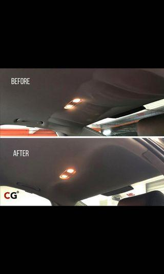 Roof lining replacement