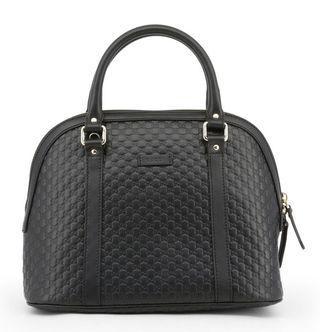 Gucci Black Leather Sling Bag