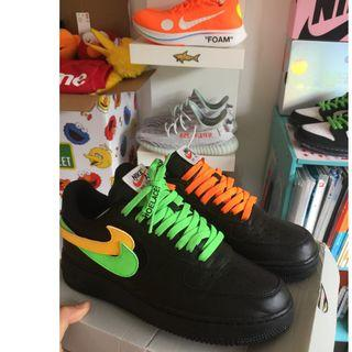 Nike air force 1 swoosh pack (not off white, yeezy, supreme)