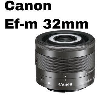 Canon Ef-M 28mm f3.5 macro lens