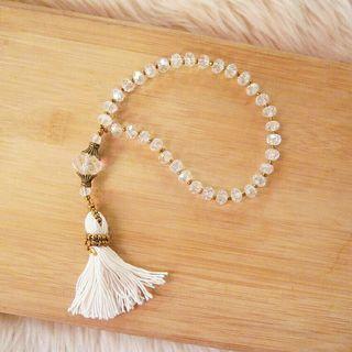 Crystal Tasbih (prayer beads)
