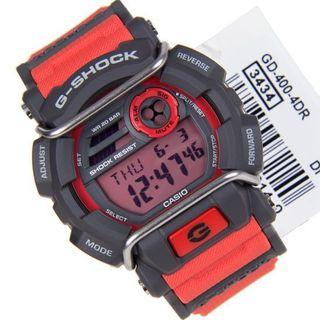 Brand new and 💯% authentic Casio G-Shock GD-400-4 Mens watch , GD400 , GD-400 , GD4004 , G-SHOCK , gshock , CASIO