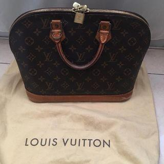 REPRICE Fast sale!! preloved lv alma th 2009 cuma 2.75jt