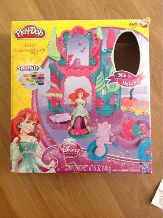 Play doh Ariel's Undersea Castle