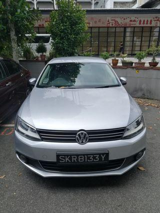 Volkswagen Jetta 1.4A TSI for long term rental . Phv usage from $450 weekly. Contact us at 88115335/90998833