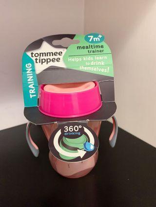 全新 Tommee Tippee 360全方位學習杯