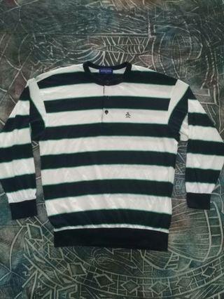 Vintage Grand Slam knitwear stripes long sleeve