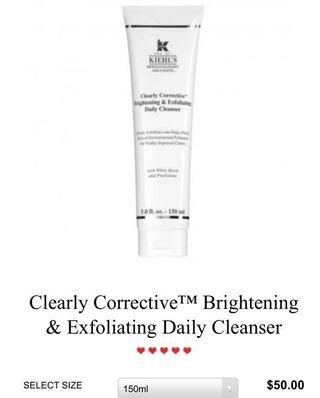 Kiehl's Clearly Corrective Cleanser