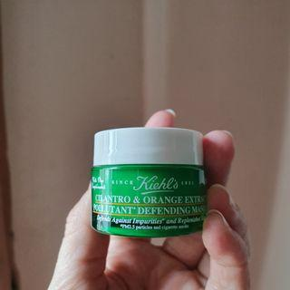 Kiehl's Cilantro & Orange Extract Pollutant Defending Mask (14ml)