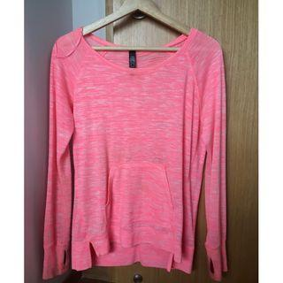 Pink Long-Sleeved Jumper