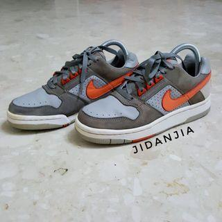 Authentic Nike Delta Force Low Orange Grey Sneakers