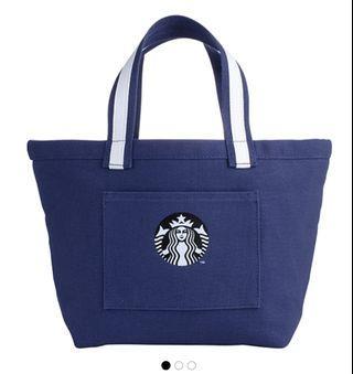 Starbucks Polka Dots Sailor Tote handbag