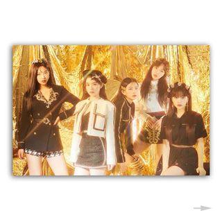Brand New Red Velvet Mouse Pad RBB